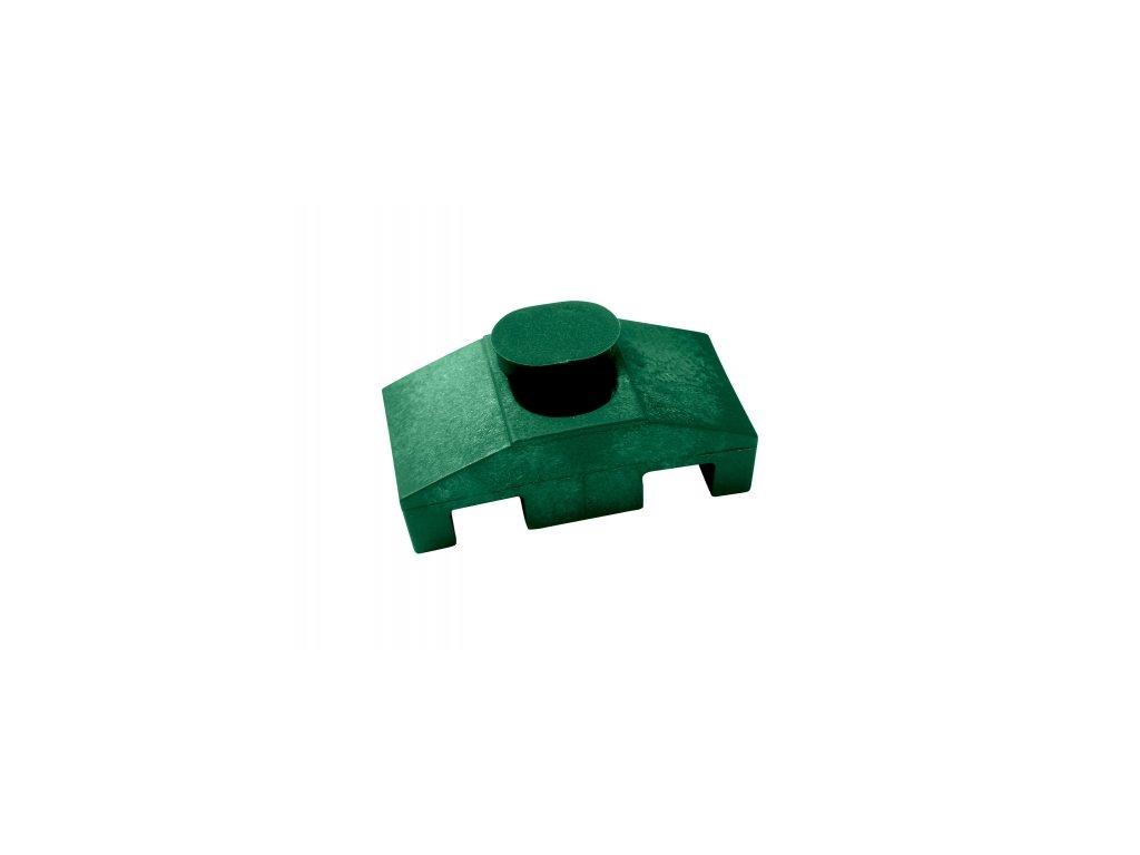 Příchytka panelu 2D na sl. 60x60mm SUPER, zelená
