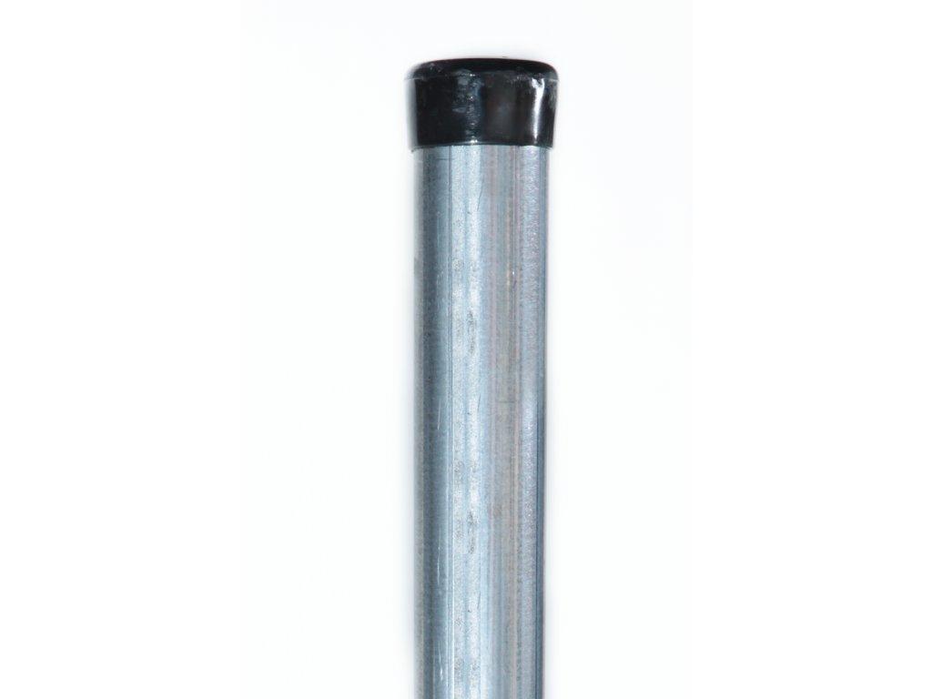Plotový sloupek pozinkovaný - Zn, 38 mm, výška 240 cm