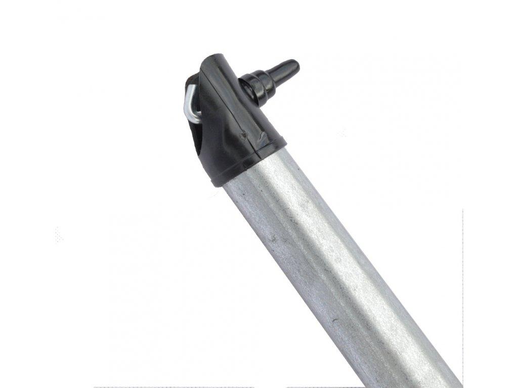 Vzpěra pozinkovaná - Zn, výška 200 cm, 38 mm průměr