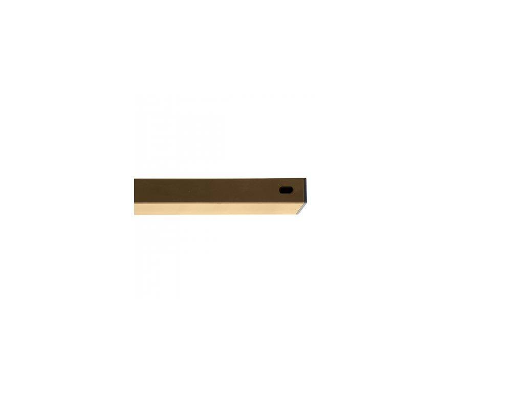 Nosník Zn+PVC písková, délka 200 cm, 60x40 mm