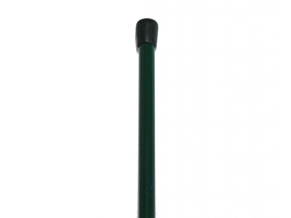Napínací tyč poplastovaná - PVC zelená 1050 mm