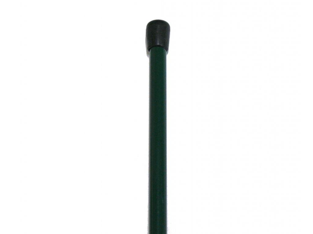 Napínací tyč poplastovaná - PVC zelená 1300 mm