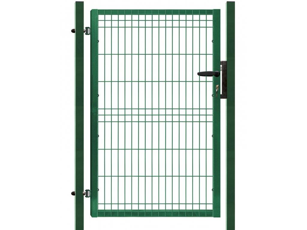 Branka výplň svařovaný panel 3D, výška 125x100 cm FAB zelená