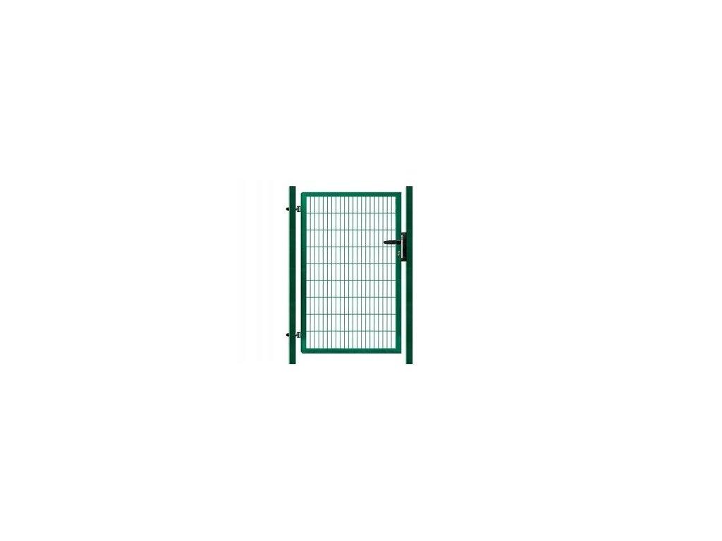 Branka výplň svařovaný panel 2D, výška 180x100 cm FAB zelená
