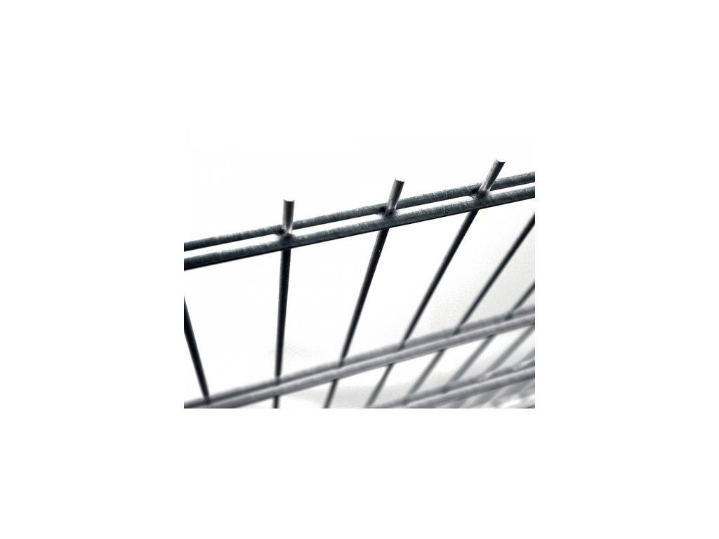 Plotový panel 2D Fe - výška 203 cm, průměr drátů 6/5/6 mm