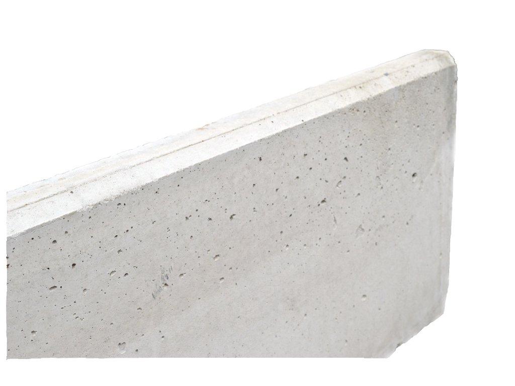 Betonová podhrabová deska 2450 x 200 x 50 mm pod pletivo