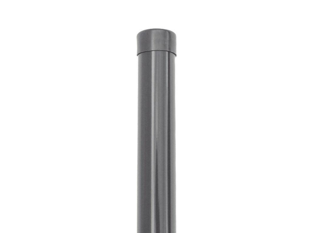 Plotový sloupek - antracit, 48 mm, výška 260 cm
