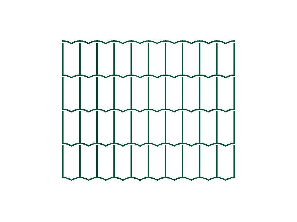 Svařované pletivo Europlast - 2,2 mm, 200 cm
