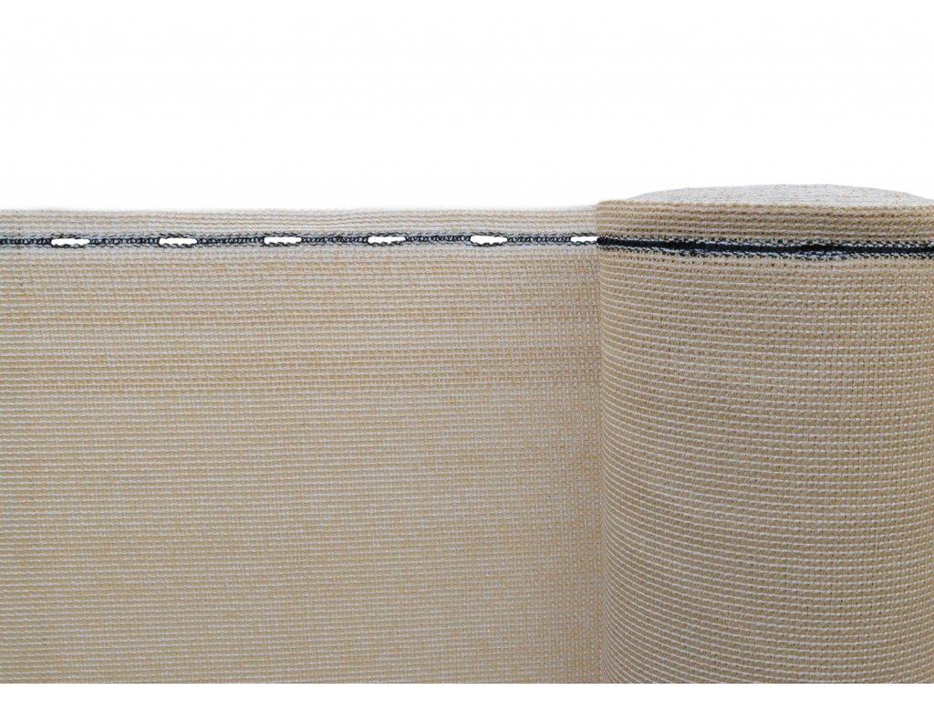 Stínící tkanina, zastínění 90%, výška 160 cm, písková
