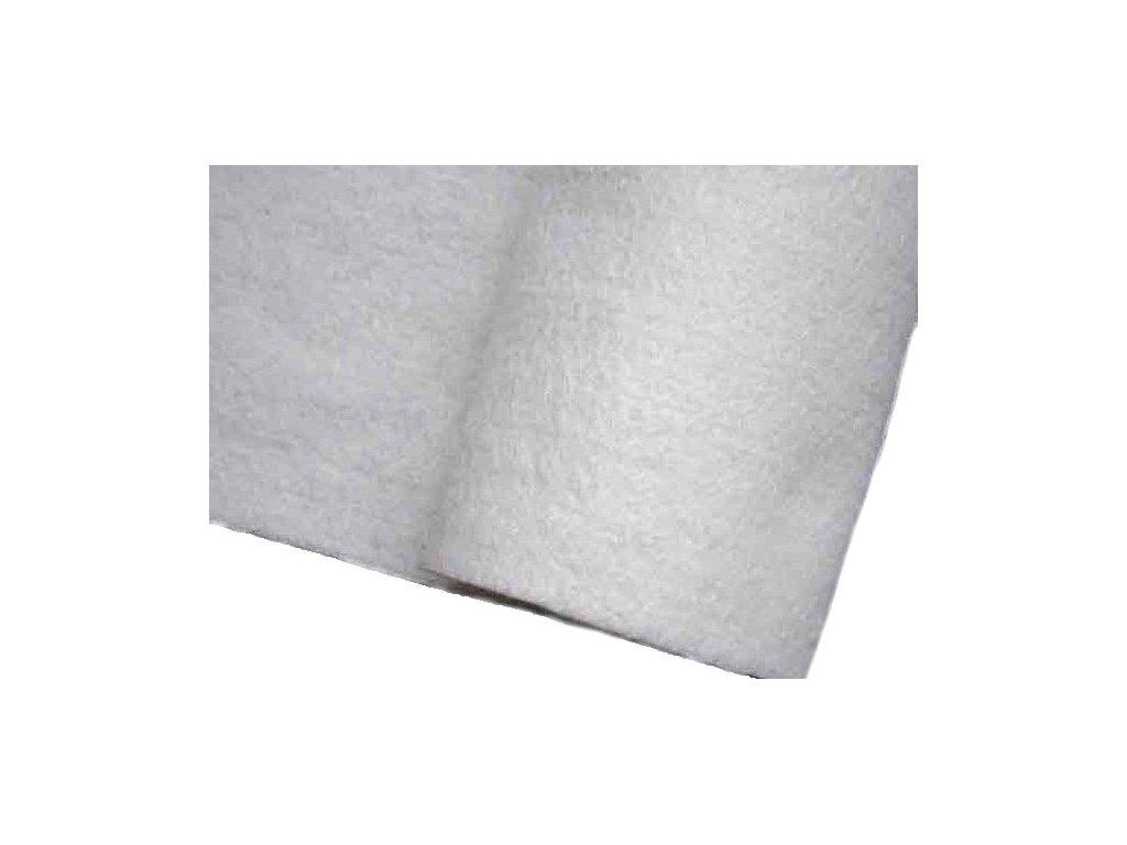 Geotextilie, bílá, PES, 200 cm, 200 g