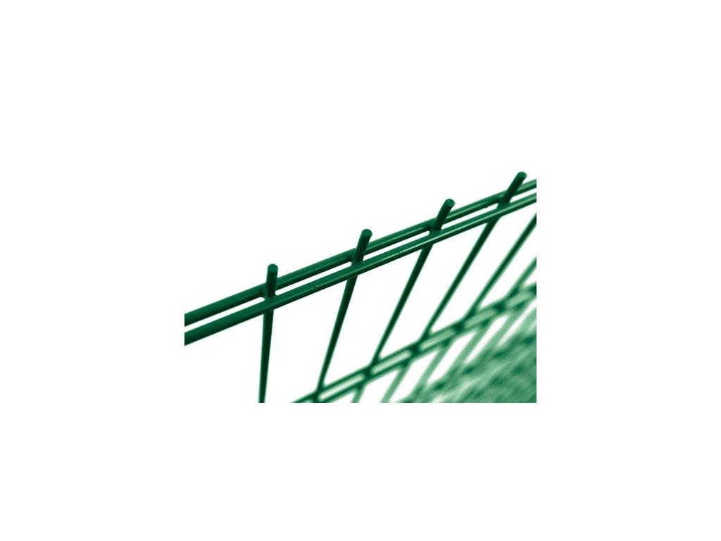 Plotový panel 2D PVC - výška 143 cm, průměr drátu 6/5/6 mm
