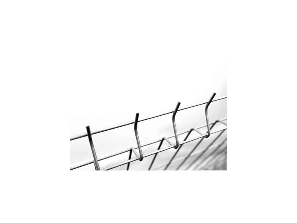 Plotový panel 3D Zn - výška 153 cm, průměr drátu 4 mm