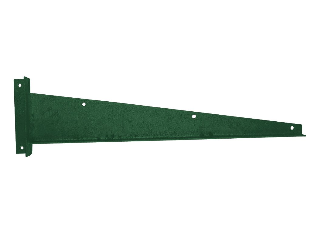Bavolet Zn+PVC na křídlo branky-brány rovný pravý