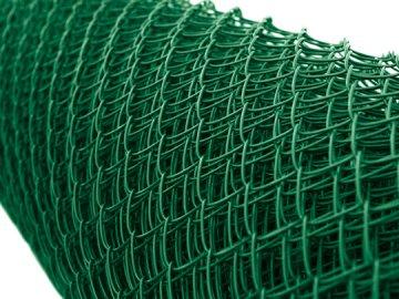 Poplastované pletivo zelené pvc, 300 cm, oko 45x45 mm, TENIS