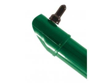 Plotová vzpěra zelená výška 400 cm, průměr 48 mm, TENIS