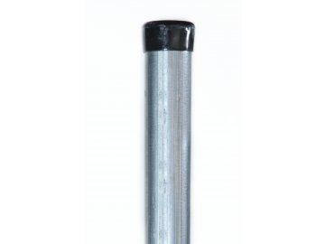 Plotový sloupek pozinkovaný - Zn, 48 mm, výška 300 cm
