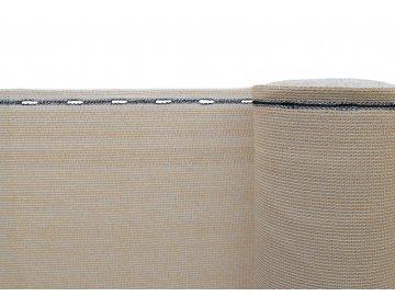 stínící tkanina písková