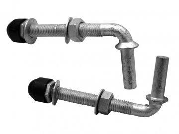 Pant na branku regulovatelný DARCROMET M12 × 130mm (2ks)