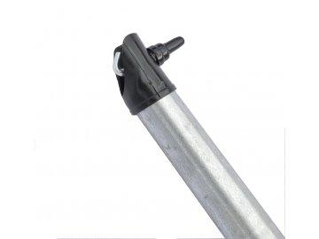 Vzpěra pozinkovaná - Zn, výška 250 cm, 38 mm průměr