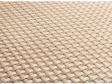 Ratanový plotový pás, 19x255 cm, béžová