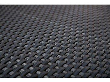 Ratanový plotový pás, 19x255 cm, antracitová