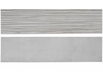 Betonová deska plotová typ 2, jednostranná – 200 x 50 cm