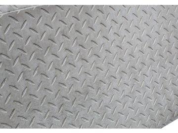 Betonová deska plotová – 200 x 50 cm, rastr čočkový plech