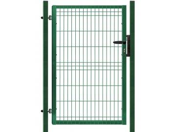 Branka výplň svařovaný panel 3D, výška 155x100 cm FAB zelená