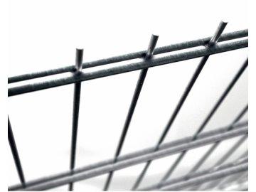 Plotový panel 2D Fe - výška 143 cm, průměr drátů 6/5/6 mm