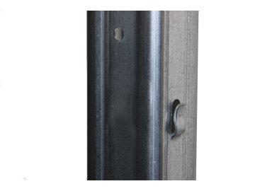 Vinohradnický sloupek Devín řadový 50x30mm, výška 250 cm