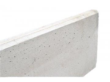 Betonová podhrabová deska 2450 x 300 x 50 mm pod pletivo