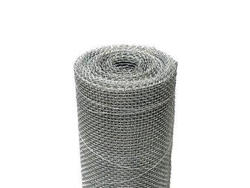 Kovová tkanina Zn síla drátu 0,8 mm, oko 3,15x3,15 mm, výška 100 cm