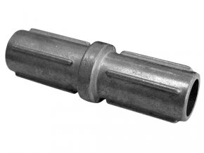 Spojka pro plotové sloupky 38 mm Zn