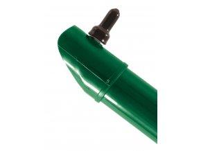 Plotová vzpěra zelená výška 475 cm, průměr 48 mm, TENIS