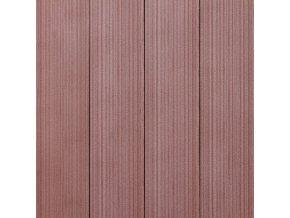 Plotovka WPC červenohnědá, šířka 120 mm, síla 12 mm, délka 150 cm