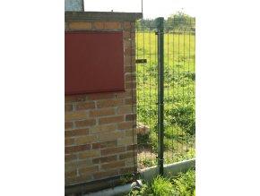 Příchytka plotového panelu L šroubovací - pozink