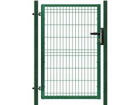 Branka výplň svařovaný panel 3D, výška 175x100 cm FAB zelená