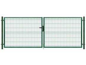 Brána výplň svařovaný panel 3D, výška 105x400 cm FAB zelená