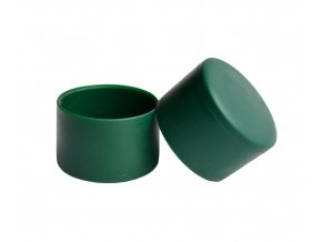 Čepička PVC 38 mm - zelená
