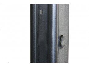 Sloupek k lesnickému pletivu Préria 50x30 mm, výška 250 cm