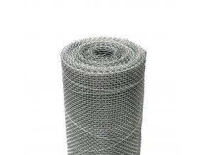 Kovová tkanina Zn síla drátu 0,5 mm, oko 2x2 mm, výška 100 cm