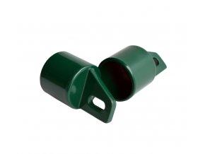 Koncovka na rozpěru Al + PVC 48 mm zelená