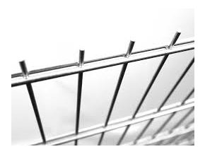 Plotový panel 2D Zn - výška 163 cm, průměr drátu 6/5/6 mm