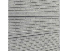 Betonová deska plotová 200x50 cm cihla