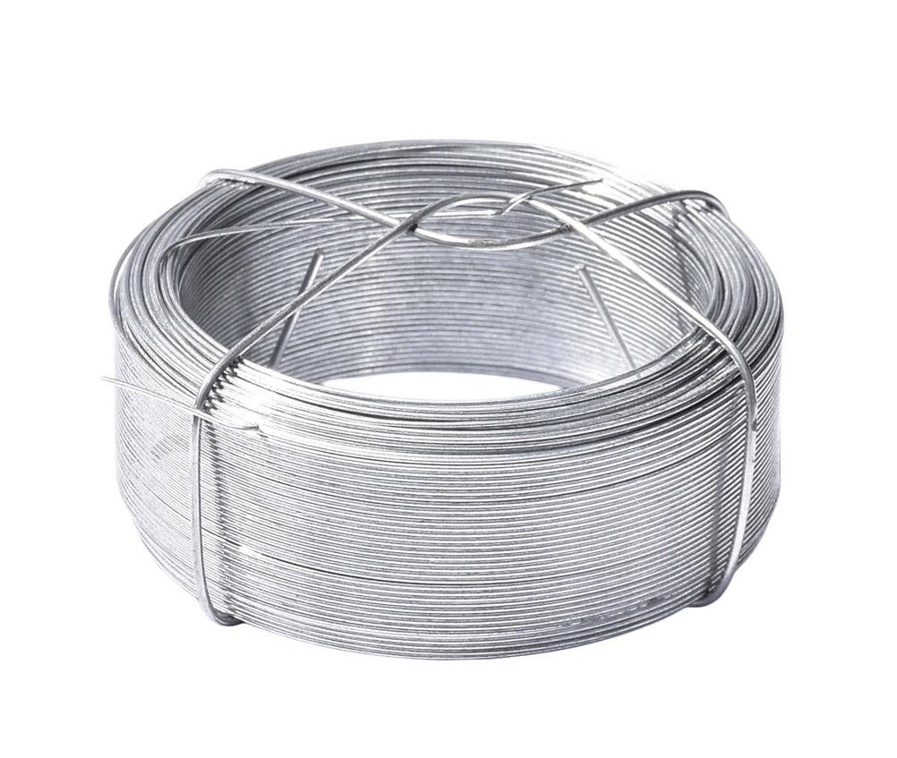 Vázací drát pozinkovaný - drát 0,8 mm, délka 100 m, Zn