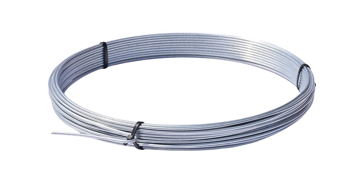 Napínací drát pozinkovaný - drát 3,1 mm, délka 26 m, Zn