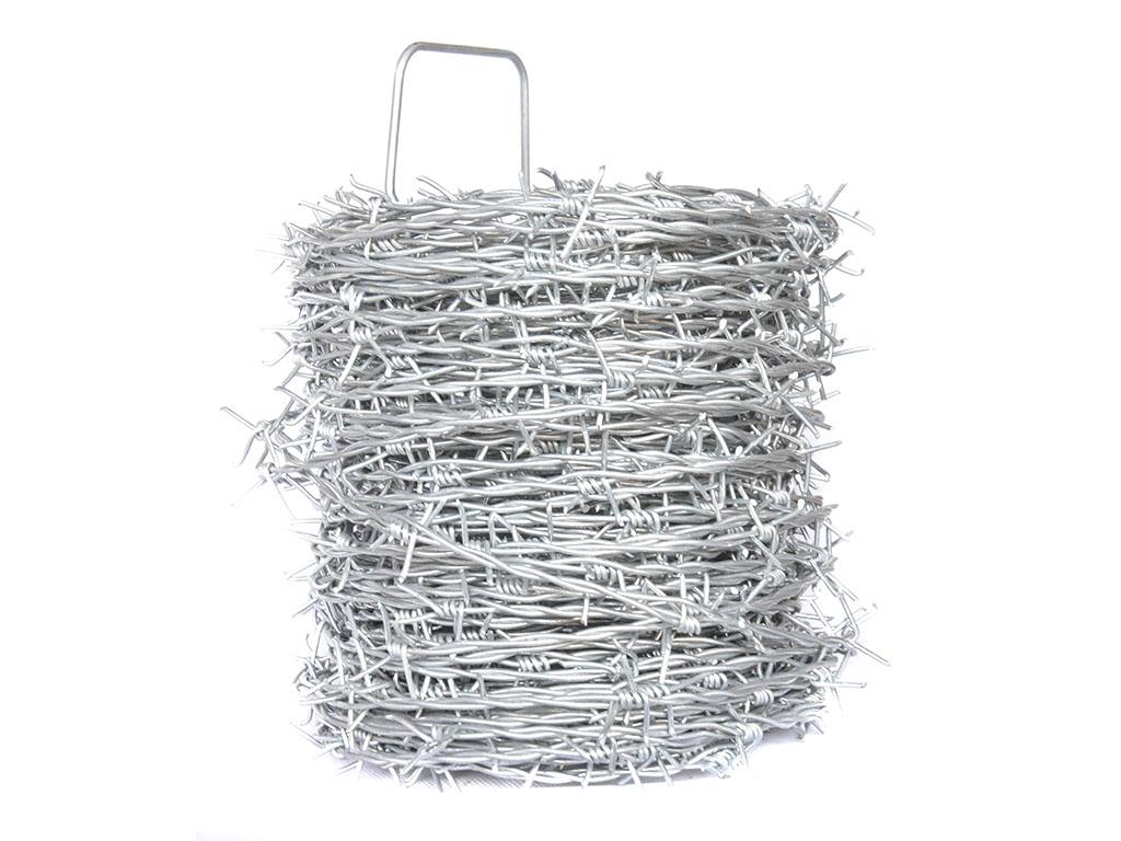 Ostnatý drát pozinkovaný - drát 1,8/2,0 mm, délka 50 m, Zn