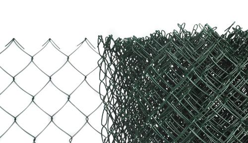 Pletivo PVC výška 150 cm bez ND - 2,4 mm; 55x55 mm; PVC; zelené