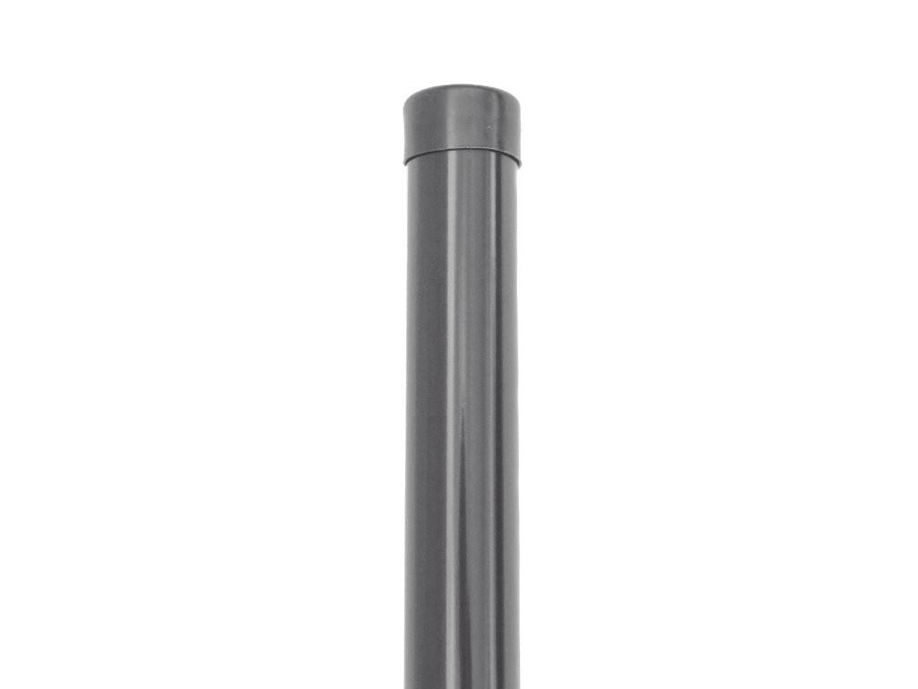 Plotový sloupek - antracit, 48 mm, výška 200 cm