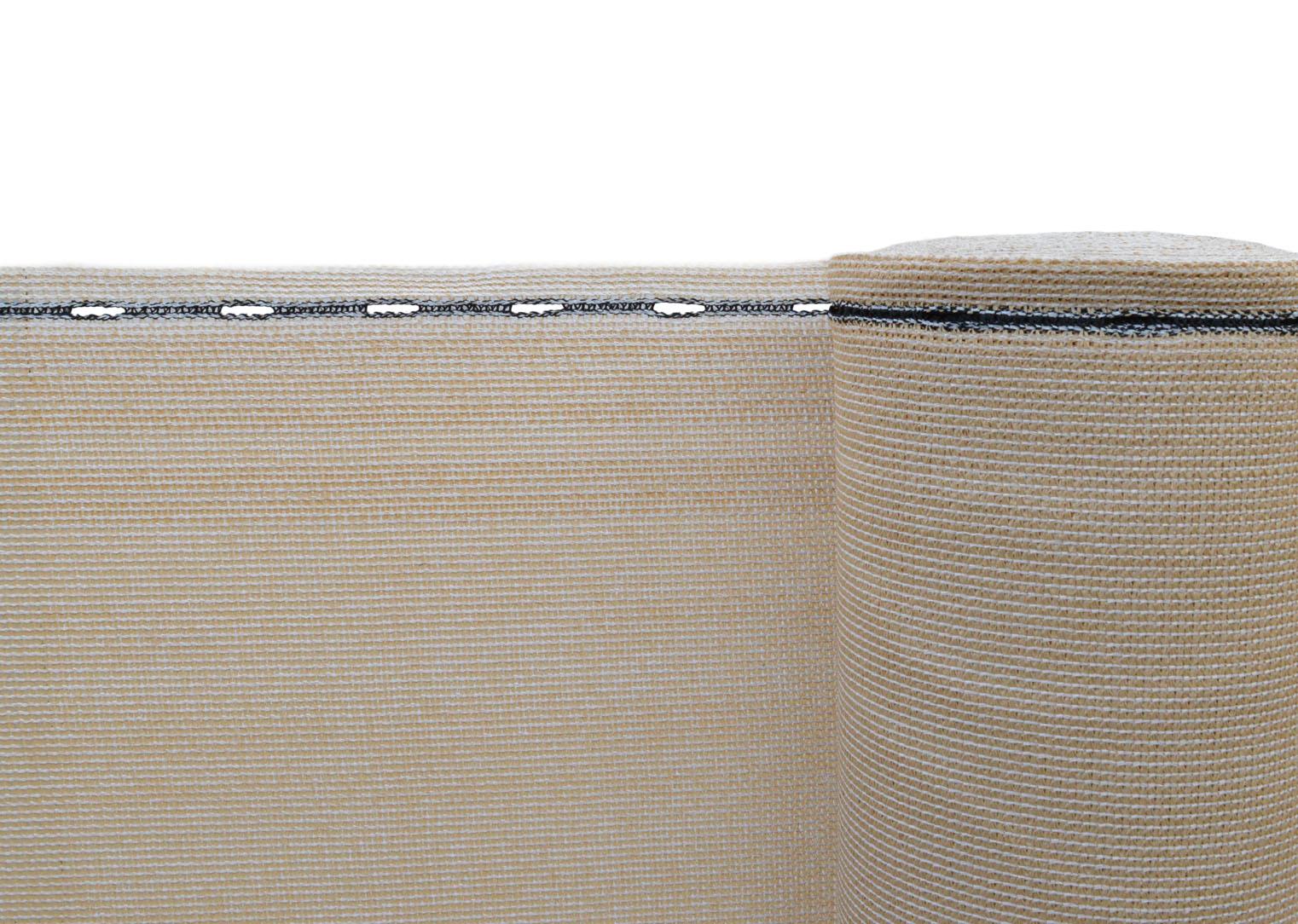 Stínící tkanina - zastínění 90%, výška 200 cm, barva: písková